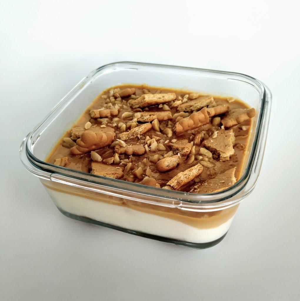 Sernik ciasto krówkowe jednoporcjowe