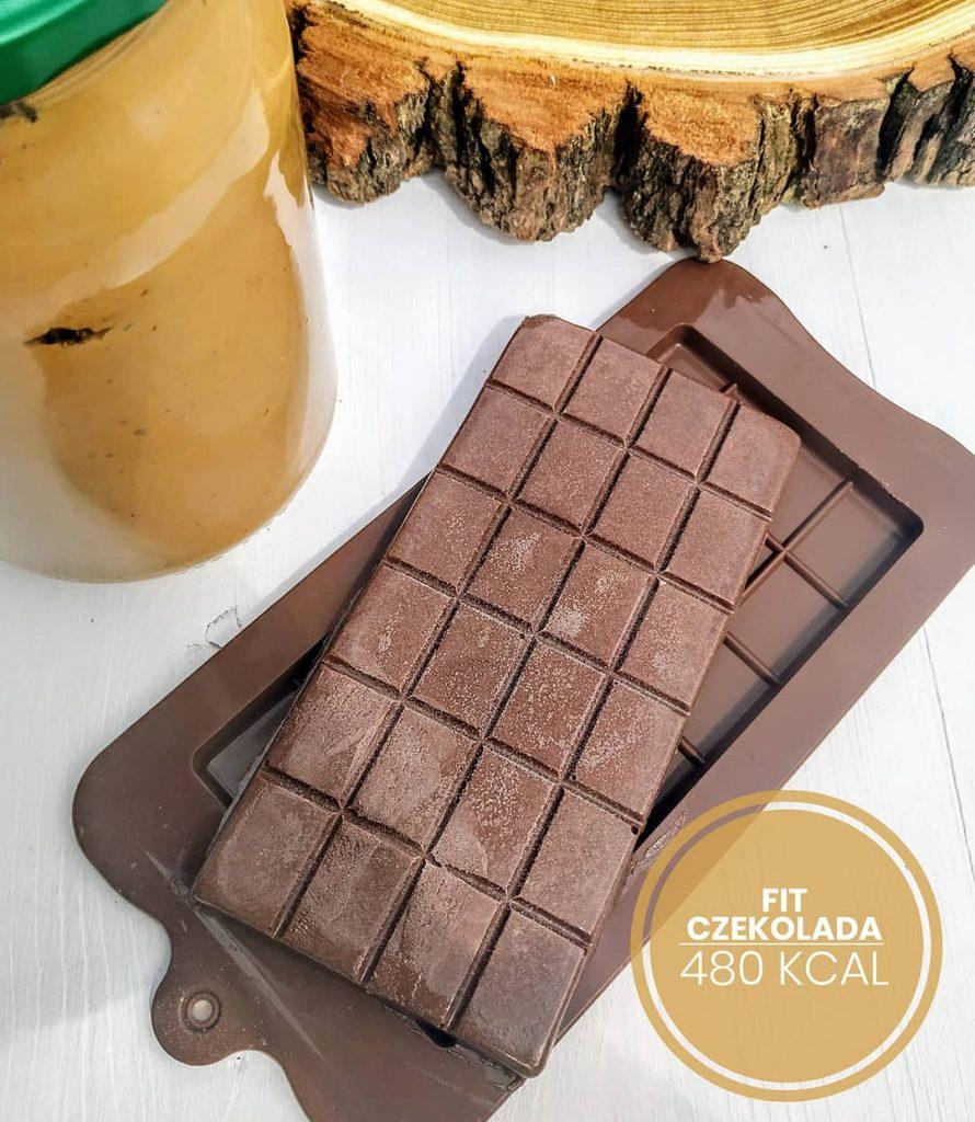 Fit czekolada orzechowa przepis