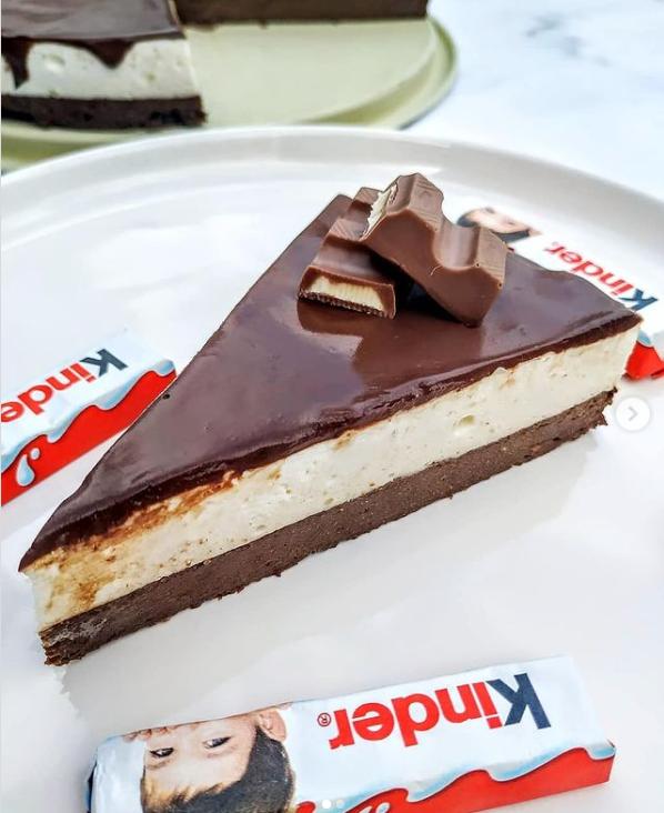 kinder czekolada ciasto