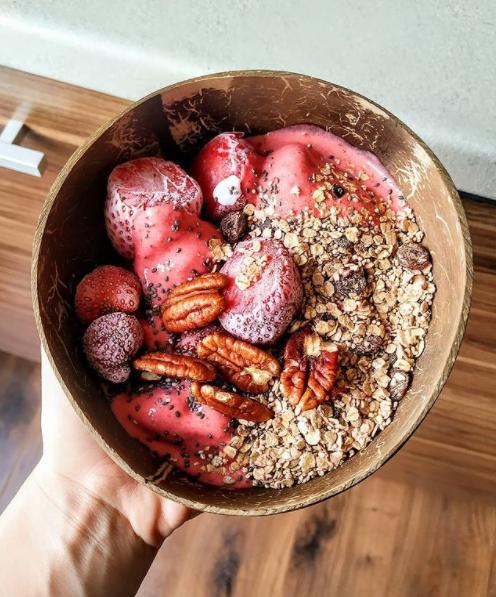 owsianka, owsianka przepisy, przepisy na owsiankę, zdrowe śniadanie, zdrowe śniadanie przepisy, zdrowe przepisy, idealne zdrowe śniadanie, szybkie śniadanie, zdrowe szybkie śniadanie, owsianka z lodami, owsianka truskawkowa