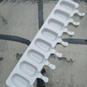 formy, formy do lodów, silikonowe formy do lodów, formy na lody 8 gniazd